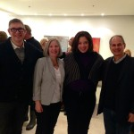 Robert Simard- ED @ Dancemakers, Cheryl Wetstein ED Canada Israel Cultural Foundation, David Eisner- AD @ Harold Green Jewish Theatre — at Julie M. Gallery.