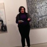 Director of Cultural Affairs Rebecca Singh — at Julie M. Gallery.